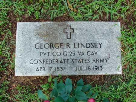 LINDSEY, GEORGE ROUSE VETERAN CW - Shannon County, Missouri | GEORGE ROUSE VETERAN CW LINDSEY - Missouri Gravestone Photos
