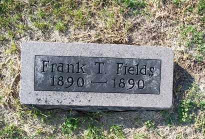 FIELDS, FRANK T. - Shelby County, Missouri | FRANK T. FIELDS - Missouri Gravestone Photos
