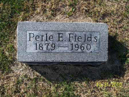 FIELDS, PERLE E. - Shelby County, Missouri | PERLE E. FIELDS - Missouri Gravestone Photos