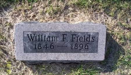 FIELDS, WILLIAM F. - Shelby County, Missouri | WILLIAM F. FIELDS - Missouri Gravestone Photos