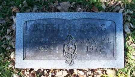 LONG, BUREL E. - Shelby County, Missouri | BUREL E. LONG - Missouri Gravestone Photos