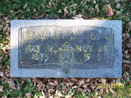 LONG, CHARLEY L. - Shelby County, Missouri   CHARLEY L. LONG - Missouri Gravestone Photos