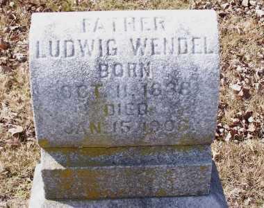 WENDEL, LUDWIG - St. Louis County, Missouri | LUDWIG WENDEL - Missouri Gravestone Photos