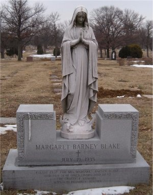 BLAKE, MARGARET BARNEY - St. Louis City County, Missouri | MARGARET BARNEY BLAKE - Missouri Gravestone Photos