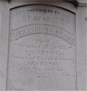 CRICKARD, BERNARD - St. Louis City County, Missouri   BERNARD CRICKARD - Missouri Gravestone Photos