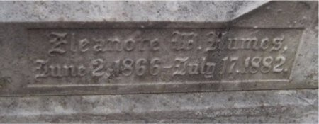 HUMES, ELEANORE W (CLOSE UP) - St. Louis City County, Missouri | ELEANORE W (CLOSE UP) HUMES - Missouri Gravestone Photos
