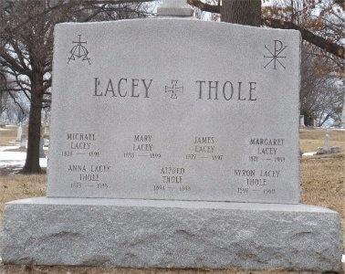 LACEY, MARGARET - St. Louis City County, Missouri   MARGARET LACEY - Missouri Gravestone Photos