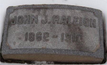RALEIGH, JOHN J - St. Louis City County, Missouri | JOHN J RALEIGH - Missouri Gravestone Photos