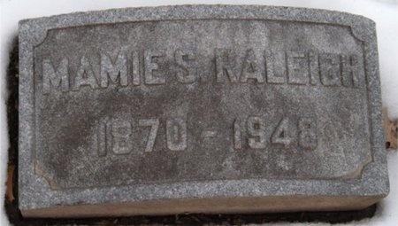 RALEIGH, MAMIE S - St. Louis City County, Missouri | MAMIE S RALEIGH - Missouri Gravestone Photos