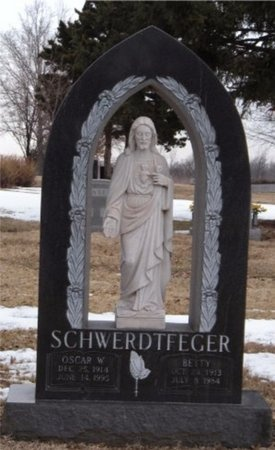 SCHWERDTFEGER, BETTY - St. Louis City County, Missouri | BETTY SCHWERDTFEGER - Missouri Gravestone Photos