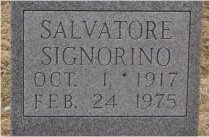 SIGNORINO, SALVATORE (CLOSE UP) - St. Louis City County, Missouri | SALVATORE (CLOSE UP) SIGNORINO - Missouri Gravestone Photos