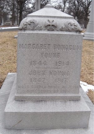 BONACUM YOUNG, MARGARET - St. Louis City County, Missouri | MARGARET BONACUM YOUNG - Missouri Gravestone Photos