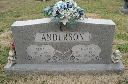ANDERSON, HOWARD  - Stone County, Missouri | HOWARD  ANDERSON - Missouri Gravestone Photos