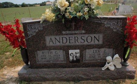 ANDERSON, LEV Z - Stone County, Missouri | LEV Z ANDERSON - Missouri Gravestone Photos