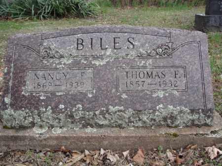 BILES, THOMAS F - Stone County, Missouri | THOMAS F BILES - Missouri Gravestone Photos