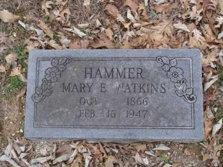 HAMMER, MARY E - Stone County, Missouri | MARY E HAMMER - Missouri Gravestone Photos
