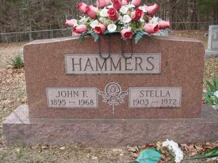 HAMMERS, JOHN F - Stone County, Missouri | JOHN F HAMMERS - Missouri Gravestone Photos
