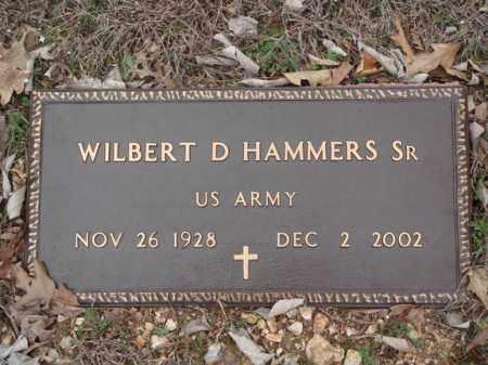 HAMMERS, SR, WILBERT D SR  VETERAN - Stone County, Missouri | WILBERT D SR  VETERAN HAMMERS, SR - Missouri Gravestone Photos