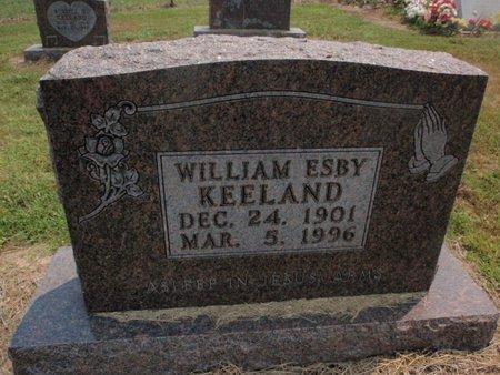 KEELAND, WILLIAM ESBY - Stone County, Missouri   WILLIAM ESBY KEELAND - Missouri Gravestone Photos