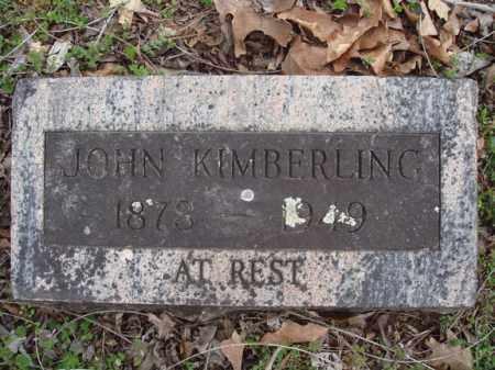 KIMBERLING, JOHN - Stone County, Missouri | JOHN KIMBERLING - Missouri Gravestone Photos