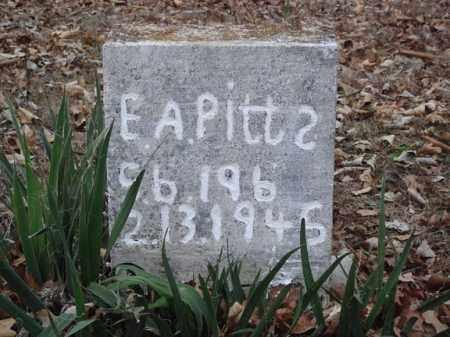 PITTS, E A - Stone County, Missouri | E A PITTS - Missouri Gravestone Photos