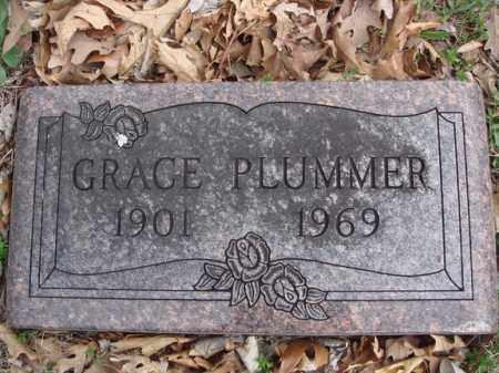 PLUMMER, GRACE - Stone County, Missouri | GRACE PLUMMER - Missouri Gravestone Photos