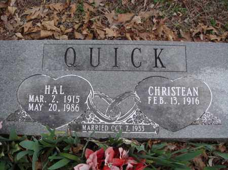 QUICK, HAL - Stone County, Missouri | HAL QUICK - Missouri Gravestone Photos