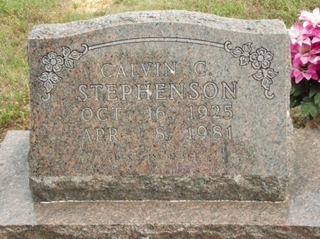 STEPHENSON, CALVIN C - Stone County, Missouri | CALVIN C STEPHENSON - Missouri Gravestone Photos