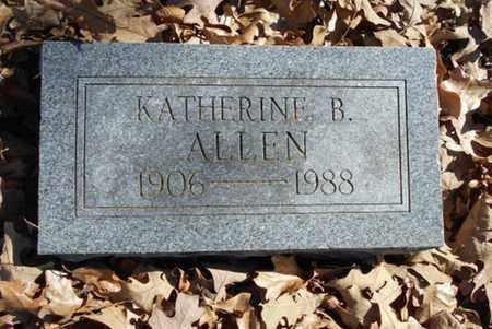 ALLEN, KATHERINE B. - Texas County, Missouri | KATHERINE B. ALLEN - Missouri Gravestone Photos