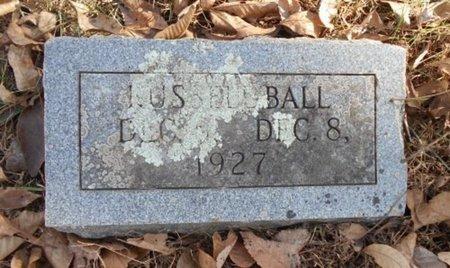 BALL, RUSSELL - Texas County, Missouri | RUSSELL BALL - Missouri Gravestone Photos