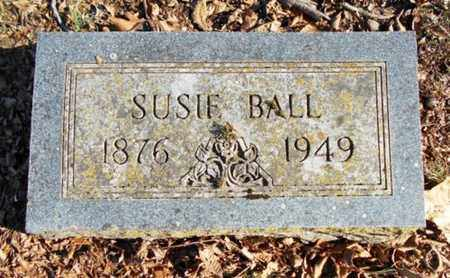 BALL, SUSIE - Texas County, Missouri | SUSIE BALL - Missouri Gravestone Photos