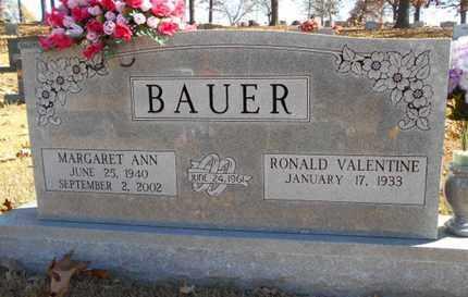 BAUER, MARGARET ANN - Texas County, Missouri | MARGARET ANN BAUER - Missouri Gravestone Photos