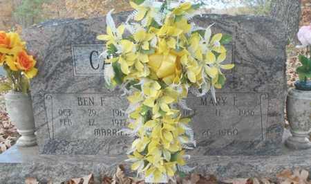CANTERBURY, BENJAMIN F. - Texas County, Missouri | BENJAMIN F. CANTERBURY - Missouri Gravestone Photos