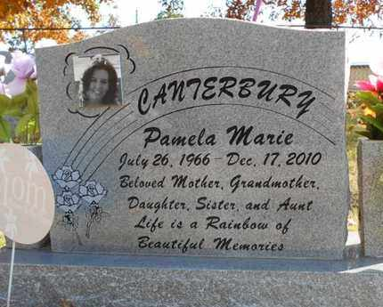 CANTERBURY, PAMELA MARIE - Texas County, Missouri | PAMELA MARIE CANTERBURY - Missouri Gravestone Photos