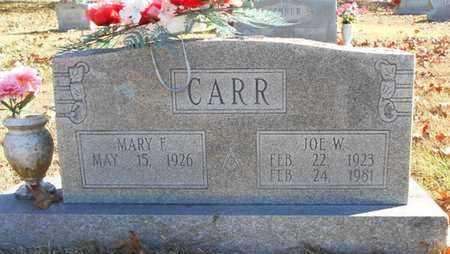 CARR, JOE W. - Texas County, Missouri   JOE W. CARR - Missouri Gravestone Photos