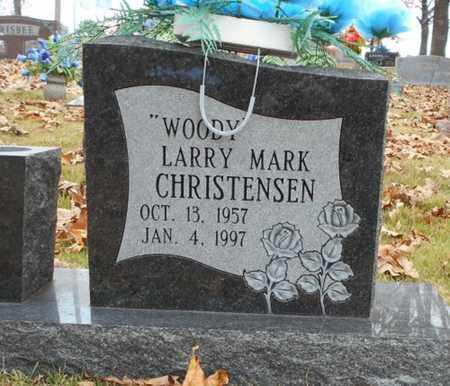 "CHRISTENSEN, LARRY MARK ""WOODY"" - Texas County, Missouri   LARRY MARK ""WOODY"" CHRISTENSEN - Missouri Gravestone Photos"
