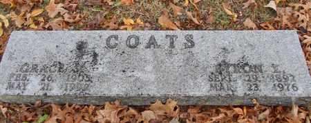 COATS, GRACE S. - Texas County, Missouri | GRACE S. COATS - Missouri Gravestone Photos