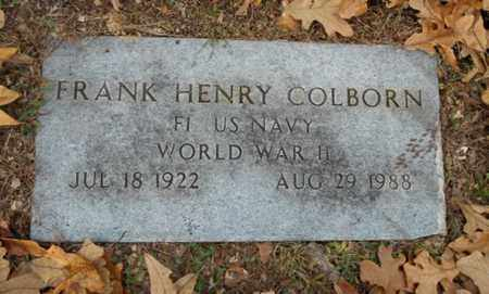 COLBORN, FRANK HENRY  VETERAN WWII - Texas County, Missouri | FRANK HENRY  VETERAN WWII COLBORN - Missouri Gravestone Photos
