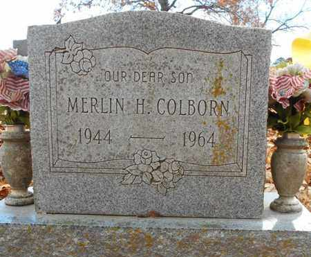 COLBORN, MERLIN H. - Texas County, Missouri | MERLIN H. COLBORN - Missouri Gravestone Photos