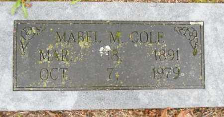 COLE, MABEL M. - Texas County, Missouri | MABEL M. COLE - Missouri Gravestone Photos