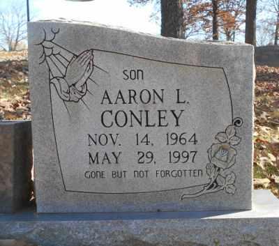 CONLEY, AARON L. - Texas County, Missouri | AARON L. CONLEY - Missouri Gravestone Photos
