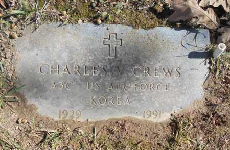 CREWS, CHARLES V.  VETERAN KOREA - Texas County, Missouri | CHARLES V.  VETERAN KOREA CREWS - Missouri Gravestone Photos