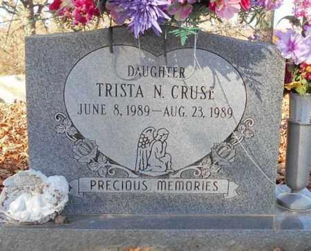 CRUSE, TRISTA N. - Texas County, Missouri | TRISTA N. CRUSE - Missouri Gravestone Photos
