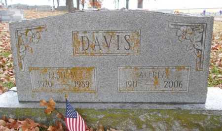 DAVIS, ALFRED - Texas County, Missouri | ALFRED DAVIS - Missouri Gravestone Photos