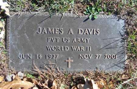 DAVIS, JAMES A.  VETERAN WWII - Texas County, Missouri | JAMES A.  VETERAN WWII DAVIS - Missouri Gravestone Photos