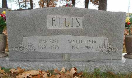 ELLIS, SAMUEL ELMER - Texas County, Missouri | SAMUEL ELMER ELLIS - Missouri Gravestone Photos