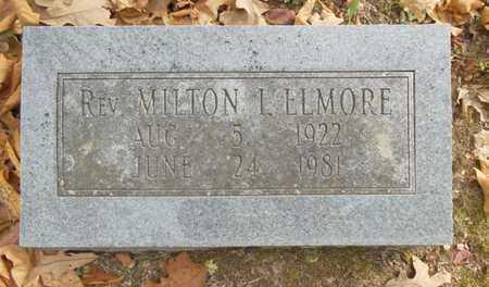 ELMORE, MILTON I. REV - Texas County, Missouri | MILTON I. REV ELMORE - Missouri Gravestone Photos