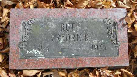 FREDRICK, RUTH - Texas County, Missouri   RUTH FREDRICK - Missouri Gravestone Photos