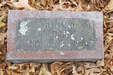 FREDRICK, WILLIAM O. - Texas County, Missouri   WILLIAM O. FREDRICK - Missouri Gravestone Photos