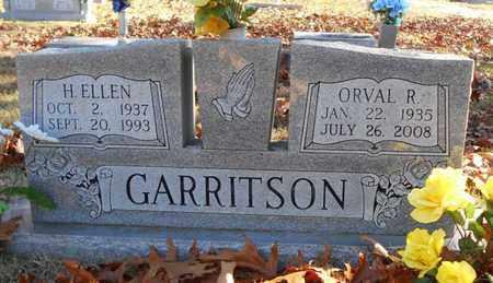 GARRITSON, H. ELLEN - Texas County, Missouri   H. ELLEN GARRITSON - Missouri Gravestone Photos